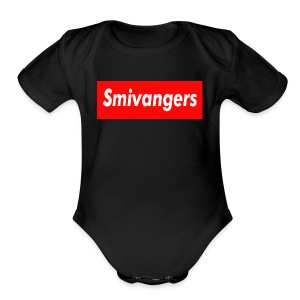 SMIVANGERS OFFICIAL SHIRT - Short Sleeve Baby Bodysuit