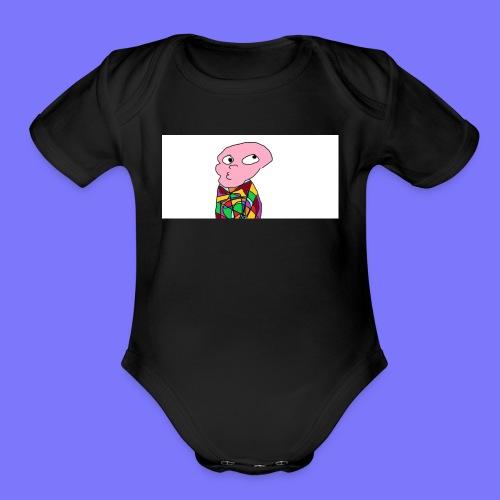 Peeber - Organic Short Sleeve Baby Bodysuit