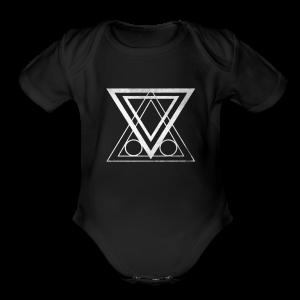 ABNF Badge Logo - Short Sleeve Baby Bodysuit