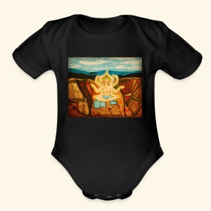Higher Meditation - Short Sleeve Baby Bodysuit