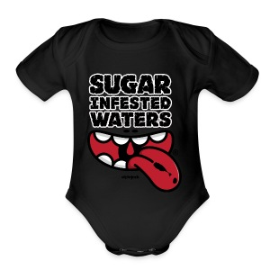 Sugar Infested Waters - Short Sleeve Baby Bodysuit