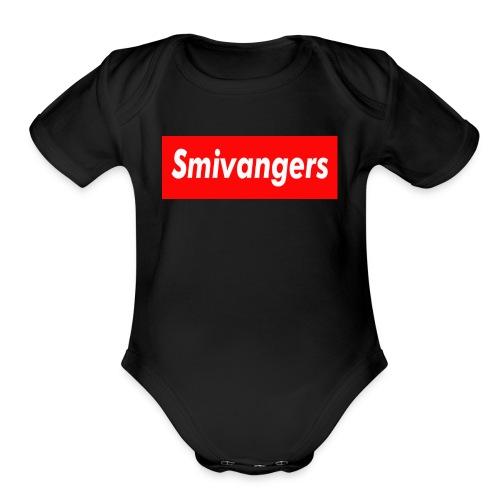 SMIVANGERS OFFICIAL SHIRT - Organic Short Sleeve Baby Bodysuit