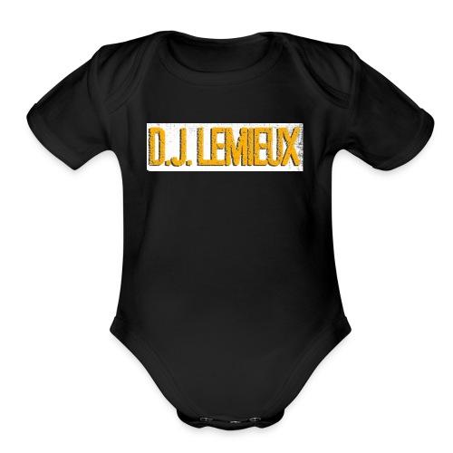 dilemieux - Organic Short Sleeve Baby Bodysuit
