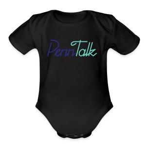 PennTalk - Short Sleeve Baby Bodysuit