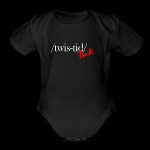 Twistid Ink - Short Sleeve Baby Bodysuit