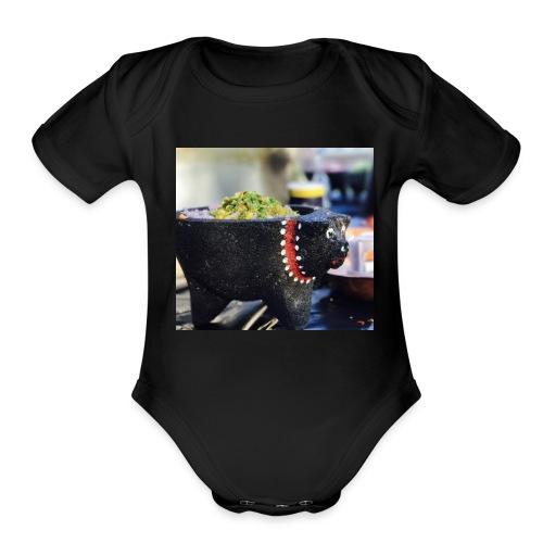 54E04330 8D6E 417D 96A3 F83703CD0986 - Organic Short Sleeve Baby Bodysuit