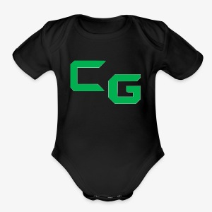 certifiedatol gaming logo - Short Sleeve Baby Bodysuit