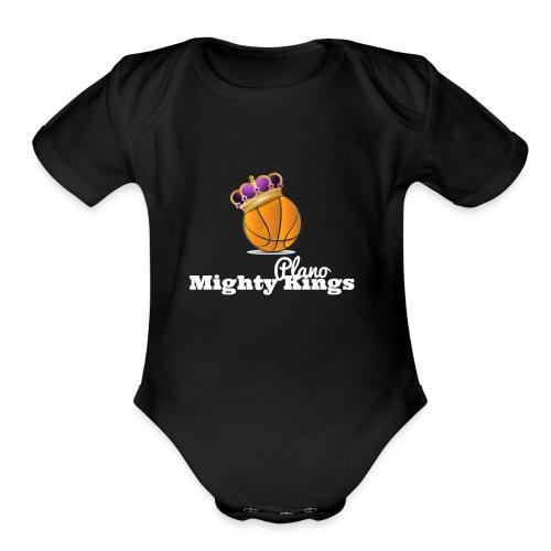 Mighty Kings 2 - Organic Short Sleeve Baby Bodysuit