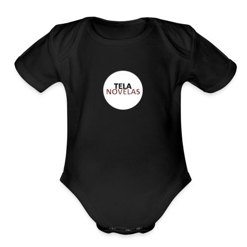 Telanovelas - Organic Short Sleeve Baby Bodysuit