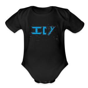 Icy - Short Sleeve Baby Bodysuit