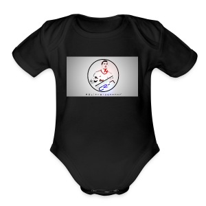 Cristiano The beast - Short Sleeve Baby Bodysuit