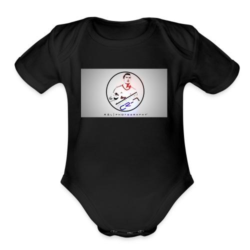 Cristiano The beast - Organic Short Sleeve Baby Bodysuit