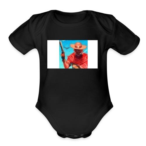 Nuero profile pic - Organic Short Sleeve Baby Bodysuit