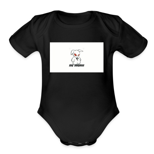 Stay Anonymous - Organic Short Sleeve Baby Bodysuit