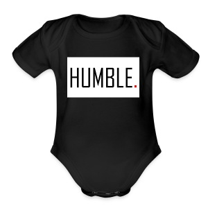 D.RO - HUMBLE. - Short Sleeve Baby Bodysuit