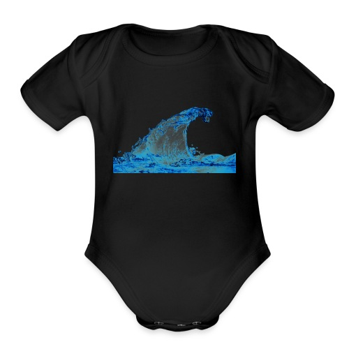 water_PNG3290 - Organic Short Sleeve Baby Bodysuit