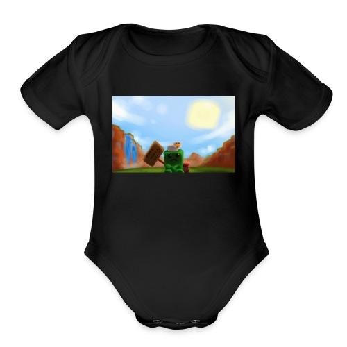 ShirtMine - Organic Short Sleeve Baby Bodysuit