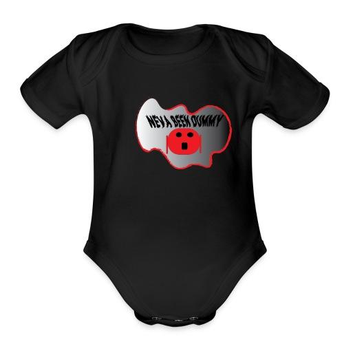 neva2 - Organic Short Sleeve Baby Bodysuit