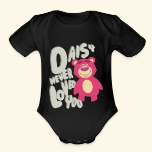 Daisy never loved you - Short Sleeve Baby Bodysuit