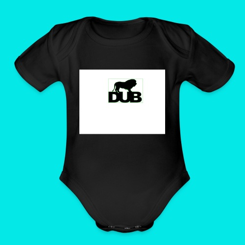 DuB Lion - Organic Short Sleeve Baby Bodysuit