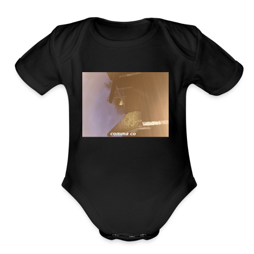 Comma Garfield - Organic Short Sleeve Baby Bodysuit