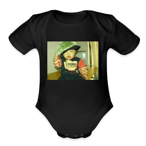 Cutie! - Organic Short Sleeve Baby Bodysuit