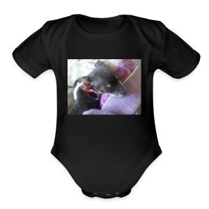 0101100607-00 - Short Sleeve Baby Bodysuit