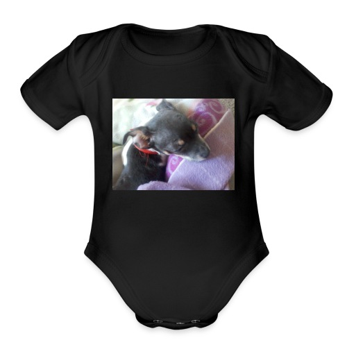 0101100607-00 - Organic Short Sleeve Baby Bodysuit