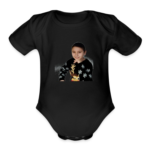 Мен / Me - Organic Short Sleeve Baby Bodysuit