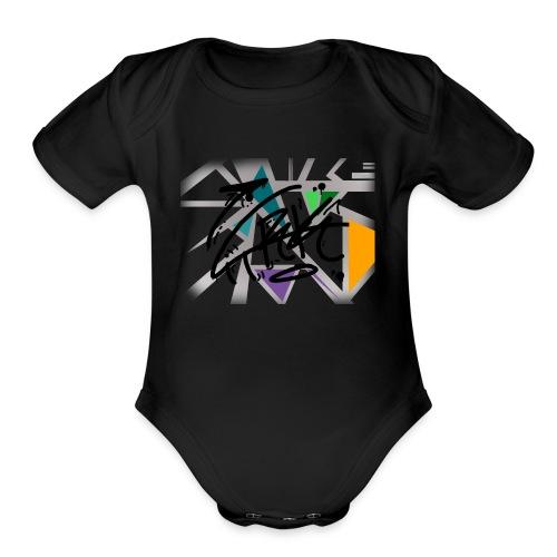 lasttt - Organic Short Sleeve Baby Bodysuit