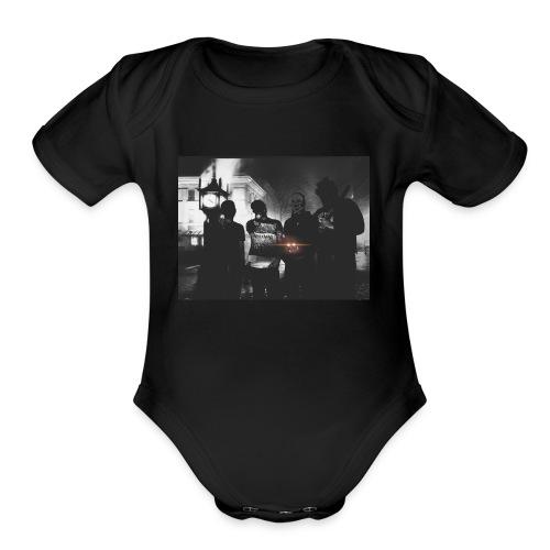 Light It Up - Organic Short Sleeve Baby Bodysuit