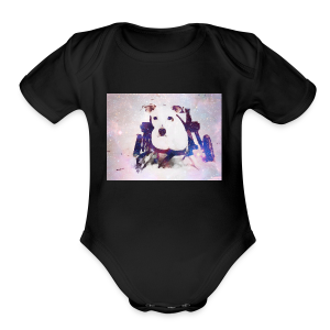 Galaxy Lennon - Short Sleeve Baby Bodysuit