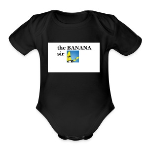 boi - Short Sleeve Baby Bodysuit