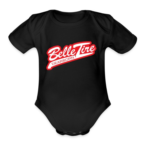 BT Dearborn Logo ONLY - Organic Short Sleeve Baby Bodysuit