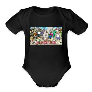 Coconut Town - Short Sleeve Baby Bodysuit