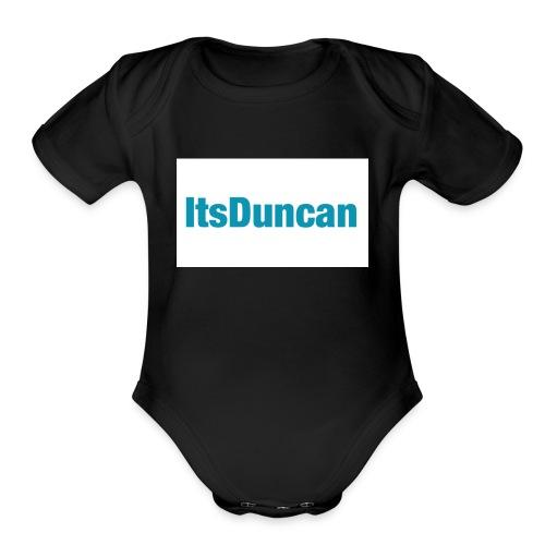 Its Duncan - Organic Short Sleeve Baby Bodysuit