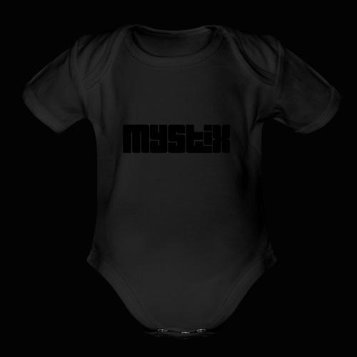Mystix - Organic Short Sleeve Baby Bodysuit