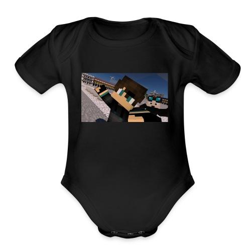 aroundtheglobeportugal - Organic Short Sleeve Baby Bodysuit