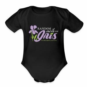 Random Acts of Iris - Short Sleeve Baby Bodysuit