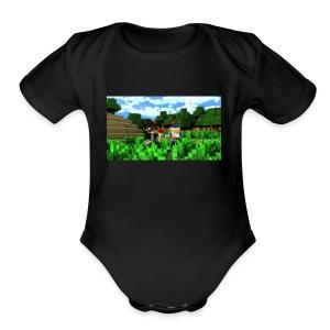 meeper - Short Sleeve Baby Bodysuit