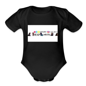 YouTube channel art - Short Sleeve Baby Bodysuit