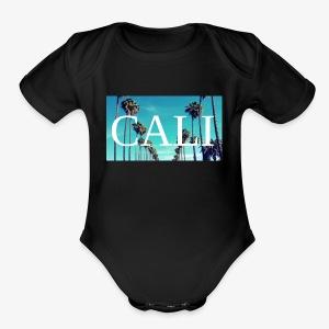 CALI - Short Sleeve Baby Bodysuit