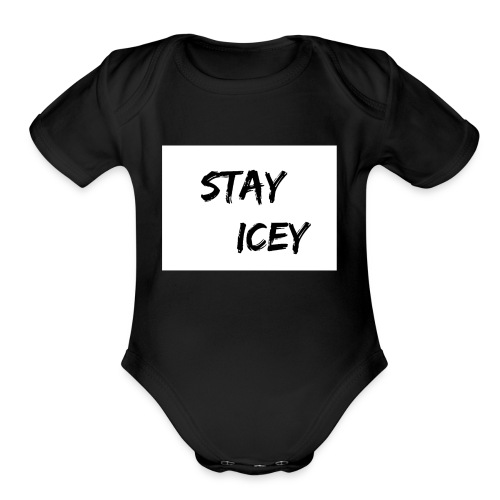 Stay Icey Merch - Organic Short Sleeve Baby Bodysuit