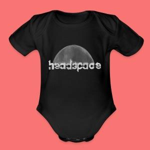 headspace logo - Short Sleeve Baby Bodysuit
