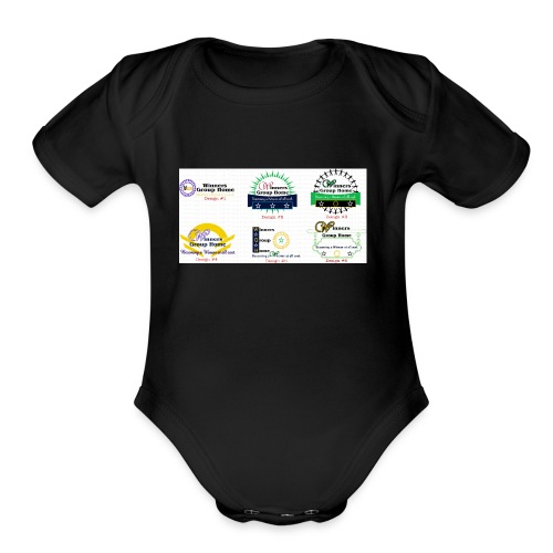 Winners Group Home - Organic Short Sleeve Baby Bodysuit