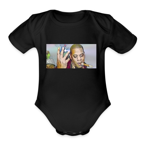 Winners win - Organic Short Sleeve Baby Bodysuit