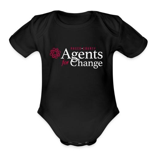 pascoagentsforchange logo - Organic Short Sleeve Baby Bodysuit