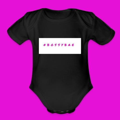 BOSSYBAE GEAR - Organic Short Sleeve Baby Bodysuit