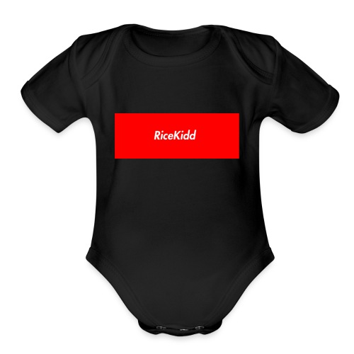 imageedit_2_6333000946 - Organic Short Sleeve Baby Bodysuit