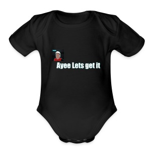 Tim Ayee Merch - Short Sleeve Baby Bodysuit